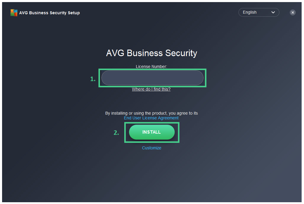 AVG Internet Security Business Edition Install Guide