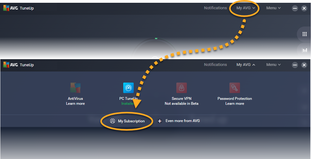 AVG TuneUp activation (licence key) 1